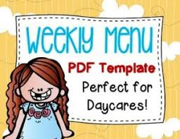 Free Day Care Make Easy Meal Plans With This Free Weekly Template Meal