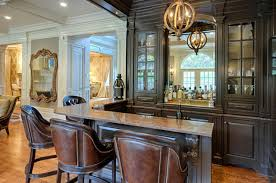 Unique Home Bar Designed by Interior Designer Linda Caruso traditional-home- bar