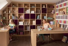 storage ideas for home office. Small Home Office Storage Offic Interior Decoration For Design Solutions Spaces Tremendous IKEA Also Beautifuk Women And Girl Two Huge Desk Brown Wooden Ideas D