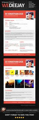 imagerackus pleasing resume format for it professional resume 1000 images about dj press kit and dj resume templates on dj resume template radio