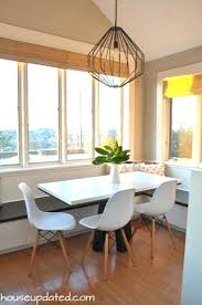 nook lighting. Breakfast Nook Lighting Bright Modern Light Union Pendant Chairs