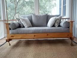 ideas swinging porch beds hanging swing plans for diy charleston sc wa pkg glamorous bed 12