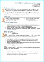 example of a good cv graduate cv