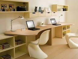 kids study desk with streamlined chairs or two kids