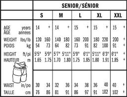 Bauer Supreme Size Chart Bauer Supreme Totalone Mx3 Hockey Pant Shell Junior