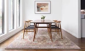 5 area rug tips to keep wood floors pristine com pertaining dining room rugs idea 11