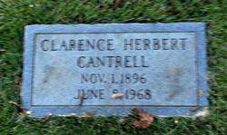Clarence Herbert Cantrell (1896-1968) - Find A Grave Memorial