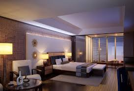 Apartment:Modern Apartment Bedroom In Small Space With Cool Lighting Ideas  Fancy Bedroom Apartment Ideas