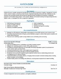 Cover Resume Letter Sample New Safety Manager Cover Letter Find