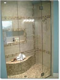 walk in showers with seats