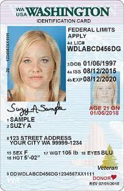 sample id cards wa state licensing dol official site id card designs