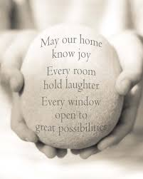New Home Quotes Beauteous House Quote Print Housewarming Gift House Blessing Print New Home