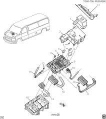 how do i get to the fuses on an 2005 gmc savana concersion van graphic