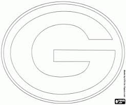logo of green bay packers logo of chicago bears coloring page