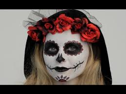 you how to apply day of the dead makeup