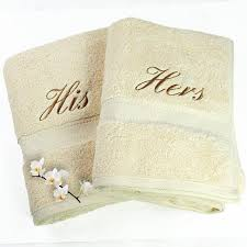 his and hers bath towels by duncan stewart textiles