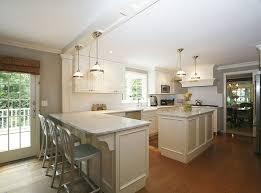 beautiful white kitchen pendant lighting design