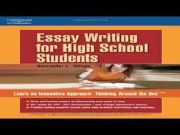 essay writing for high school students pdf