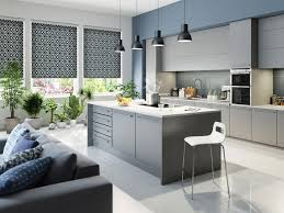 Patterned Blinds For Kitchen Roller Blinds By Tuissar Designer Blinds Featuring Sheer Voile