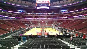 Chicago United Center Concert Seating Chart 38 Actual Bulls Seats View