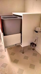 dog proof trash can kitchen slim step can black plastic dog proof