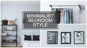 Minimal Bedroom Minimalist Bedroom Style Youtube
