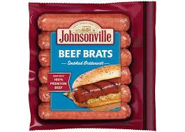 smoked beef brats links