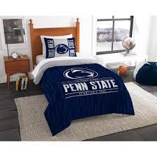 penn state 2 piece modern take multi twin comforter set