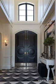 arched front doorArched Black Front Doors Design Ideas