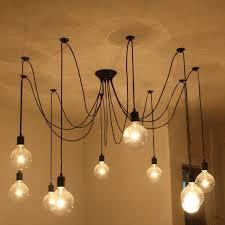 loft antique bulbs pendant lighting 7580