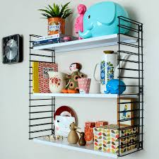mid century style wall shelves by berylune notonthehighstreet