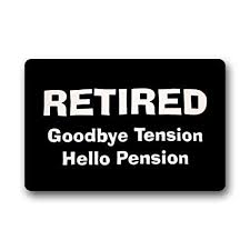 Amazon Gnisbvo Elegant Pattern Funny Retirement Quotes Cool Funny Retirement Quotes