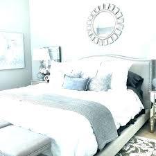 elegant upholstered bedroom ideas grey design padded headboard whi