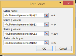 Excel Bubble Chart Multiple Series How To Create Bubble Chart With Multiple Series In Excel