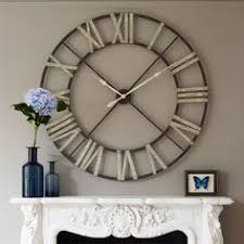 a statement clock for over a mantle or pretty much anywhere else big unique diy wall clocks
