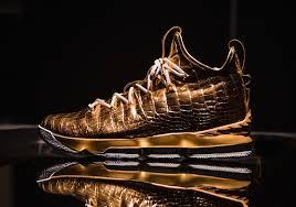 Design Your Own Lebron 11 Lebron James Gold Diamond Shoes 30 000 Point Customs