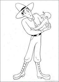 Stampa E Colora Curioso Come George Da Colorare Disegno 9