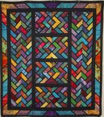 Stained Glass Quilt Pattern Impressive 48 Best STAINED GLASS QUILTS Images On Pinterest Stained Glass