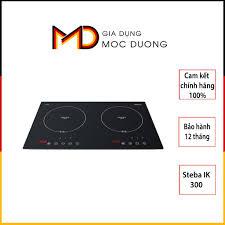 Bếp từ đôi Steba IK 300, thiết kế đơn giản sang trọng, chính hãng Đức, Gia  Dụng Mộc Dương giá cạnh tranh