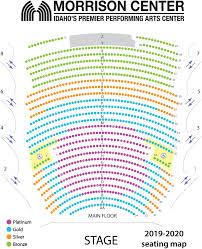 Seating Charts Opera Idaho