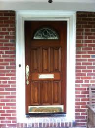 name plates for front door glass