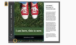 design book cover template 8