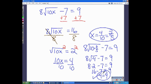 solve radical equations check for extraneous solutions
