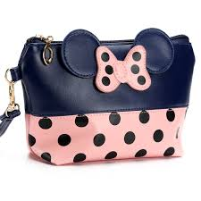 2017 wristlet travel cosmetic bags women pu leather bow small makeup bag handbag organizer pouch toiletry wash bags cases in cosmetic bags cases from