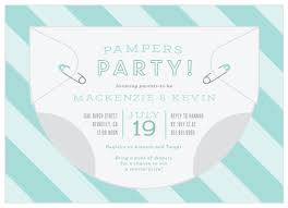 Diaper Invitations Diaper Baby Shower Invitations Match Your Color Style Free