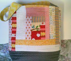 Quilt as you go - Drawstring Bag | Small Sewing Projects ... & Quilt as you go - Drawstring Bag | Small Sewing Projects | Pinterest | Quilt,  Bags and Photos Adamdwight.com