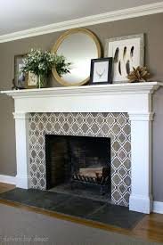 Decorative Tiles For Fireplace Tile Fireplace Hearth Theme Fireplace Decorative Tiles Used Man And 43
