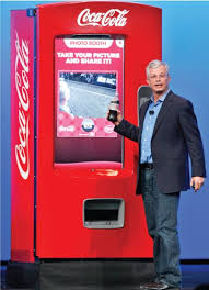 Coca Cola Touch Screen Vending Machine Enchanting Intel Chief Product Officer Demonstrates How Coke's Touchscreen