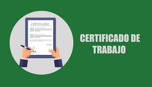 Certificado De Trabajo Modelo En Formato Word 2019