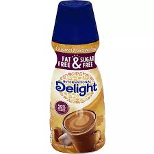 As an added bonus, it is sugar free so i can enjoy my delicious coffee without throwing a curve in my healthy diet. International Delight Gourmet Fat Free Sugar Free Caramel Marshmallow Coffee Creamer Creamers Donelan S Supermarkets